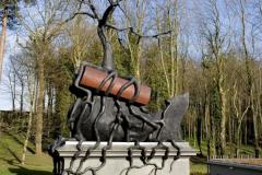 Пам'ятник «Незважаючи на історію» від Білла Вудроу, Лондон. Велика Британія.