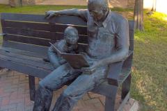 Бібліотечна скульптура, Мак Кінні, Техас, США